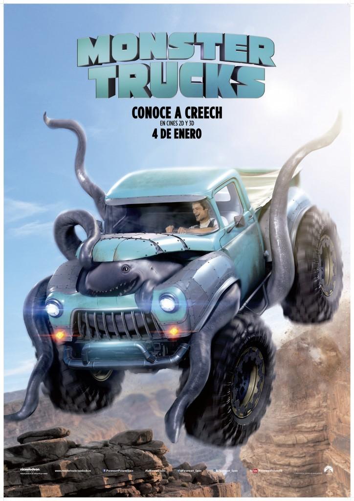 Monster Trucks Póster