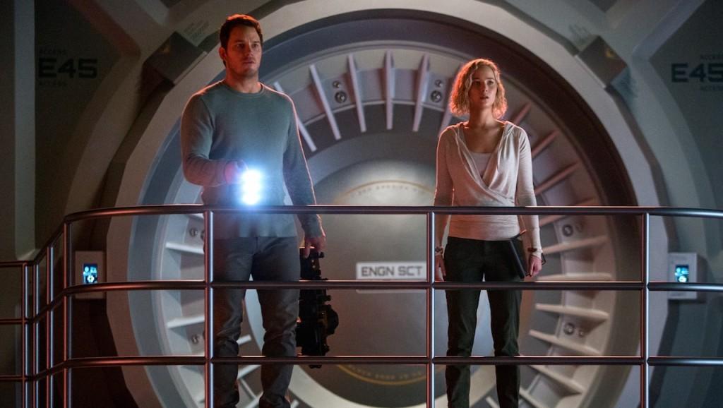 Jim y Aurora estarán solos en la Avalon