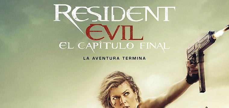 Póster Final de RESIDENT EVIL: EL CAPÍTULO FINAL