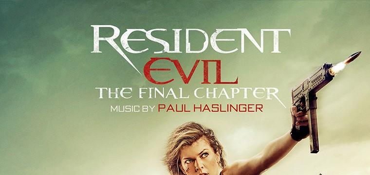 La banda sonora de Resident Evil: El Capítulo final compuesta por Paul Haslinger
