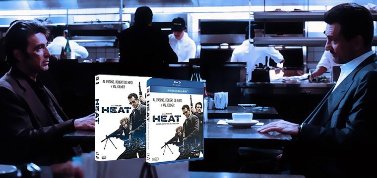 Regresa en formato doméstico el clásico de Michael Mann con HEAT: La edición definitiva del director