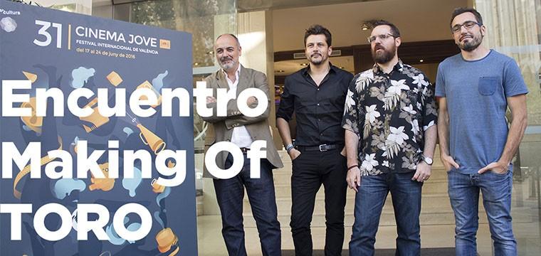 Encuentro Making Of TORO, Kike Maíllo y Fernando Navarro