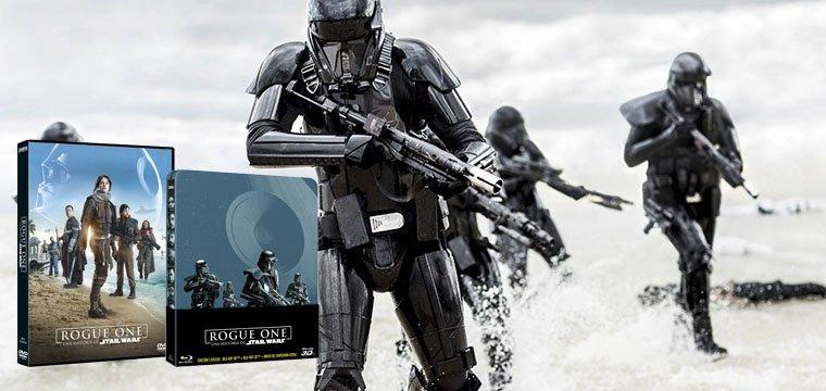 En Abril la rebelión invadirá tu hogar con los DVD y BR de Rogue One