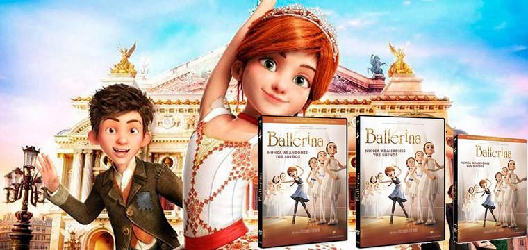 La cinta de animación Ballerina se estrenará en DVD y Blu-ray en tres ediciones