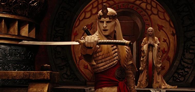Forjan la espada del Principe Nuada de Hellboy 2