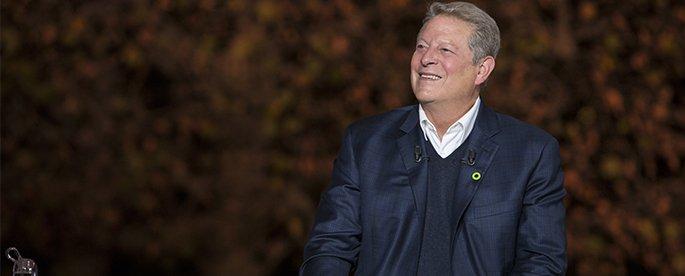 Entrevista a Al Gore por Una verdad muy incómoda Ahora o Nunca
