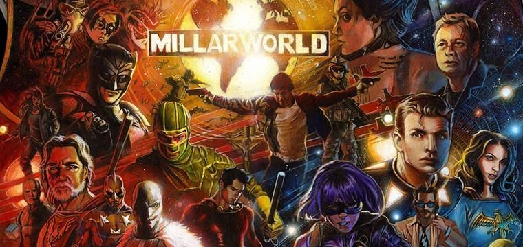 Netflix adquiere la firma de cómics Millarworld