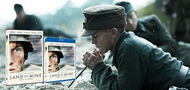 Land of Mine (Bajo la arena) llega a nuestros hogares en DVD y BR