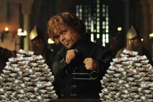 Tyrion Lanniser Dinero
