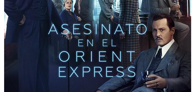 Póster final de Asesinato en el Orient Express