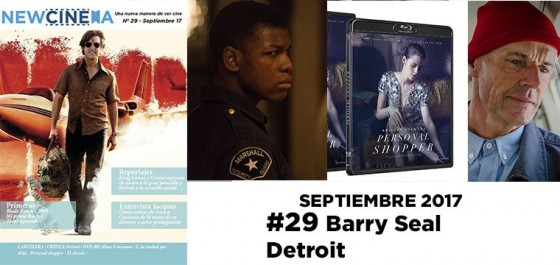 NC Magacine Nº29 Septiembre 2017: Barry Seal El traficante – Detroit