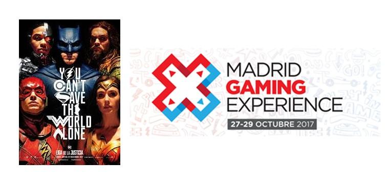 La liga de la justicia estará presente en Madrid Gaming Experience
