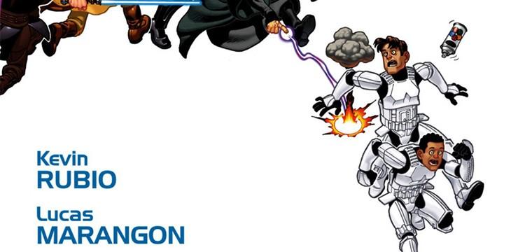 Los personajes de cómic Tag y Bink presentes en el spin off de Han Solo