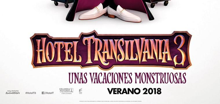 Póster teaser de HOTEL TRANSILVANIA 3: UNAS VACACIONES MONSTRUOSAS