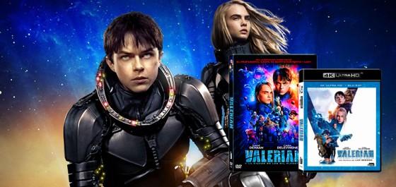 Lo último de Luc Besson, Valerian estará disponible en DVD y BD en Diciembre