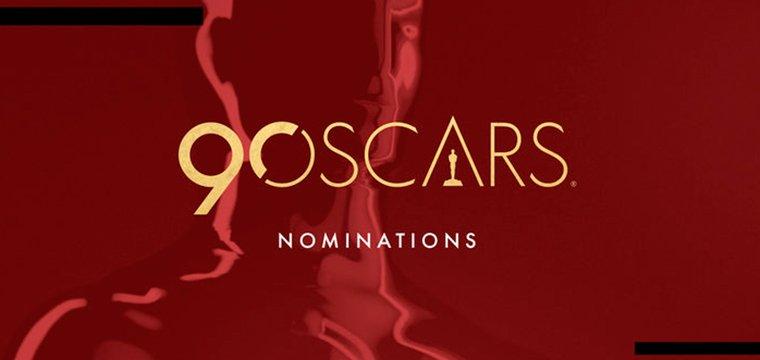 Conoce la lista de nominados al Oscar de 2018