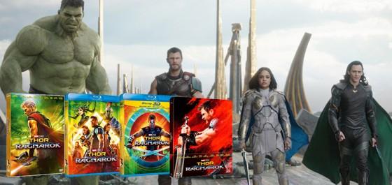 Thor Ragnarok disponible en formato doméstico en Marzo