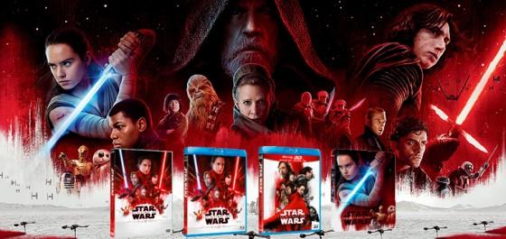 En Abril llega Star Wars los últimos Jedi en formato doméstico
