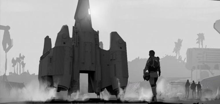 Gary Whitta comparte el arte conceptual de The Last Starfighter por Matt Allsopp