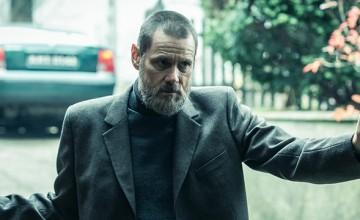 Así de serio luce Jim Carrey en su próxima película, Dark Crimes