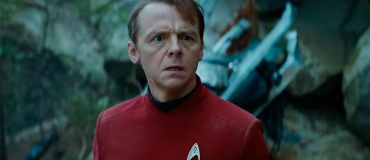Simon Pegg habla sobre la próxima aventura de STAR TREK