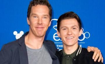 Vídeo en el que Cumberbatch impide a Holland el mayo número de spoilers posibles