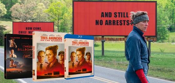 TRES ANUNCIOS EN LAS AFUERAS – llega a nuestros hogares en DVD y Blu-ray en Mayo