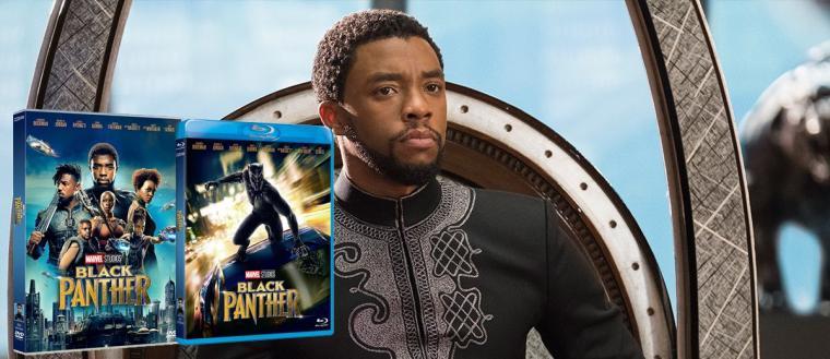 Black Panther llega a nuestros hogares en DVD y BD