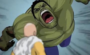 Hulk contra One Punch Man en este corto animado de acción (Fan-Made)
