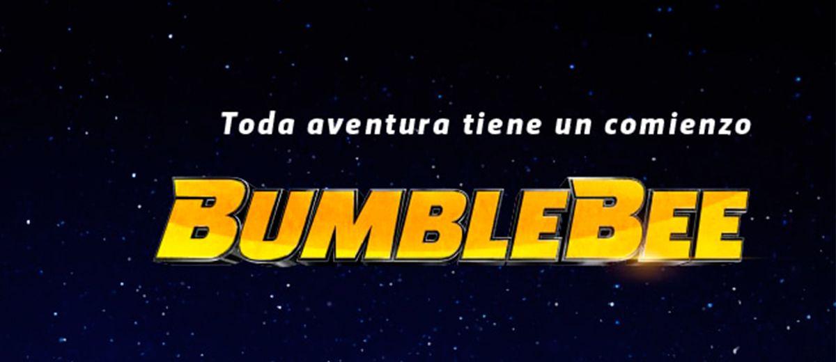 Teaser póster de la película en solitario de BUMBLEBEE
