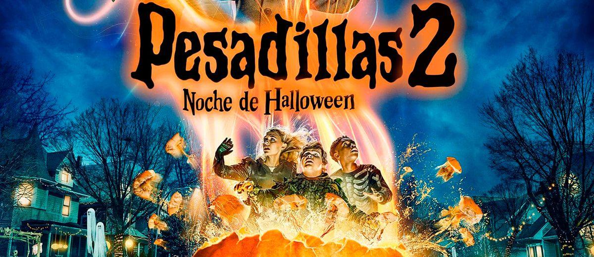 Póster de Pesadillas 2: Noche de Halloween