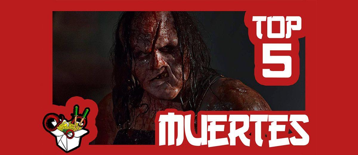 Vídeo recopilatorio Top 5 Muertes de la saga Hatchet