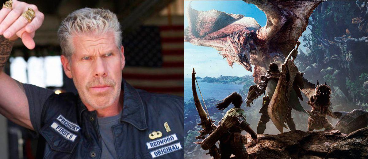 T.I. Harris y Ron Perlman se unen a la adaptación de Monster Hunter
