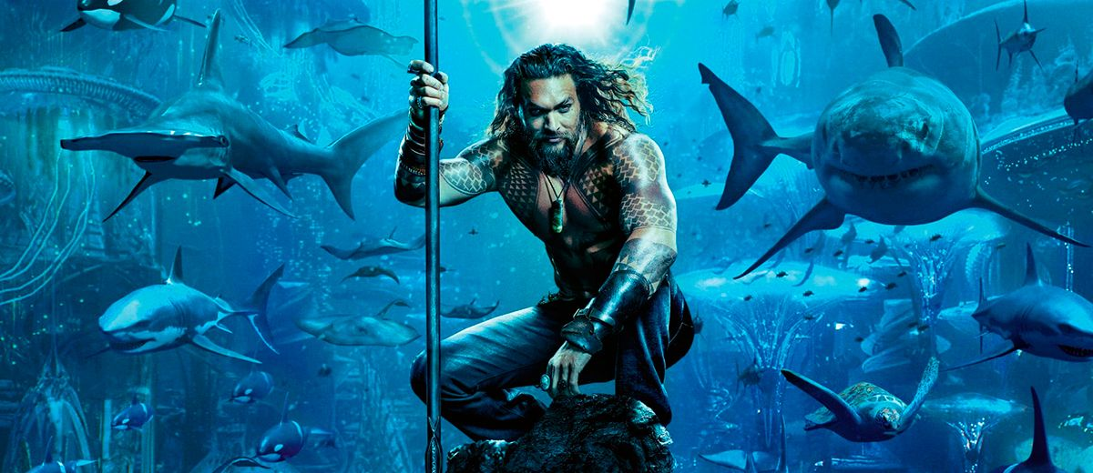 Teaser póster de Aquaman