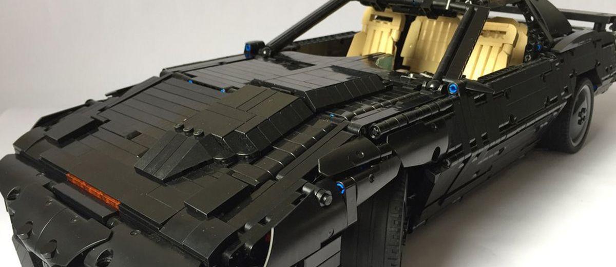 Construyen el clásico coche fantástico K.I.T.T. en LEGO