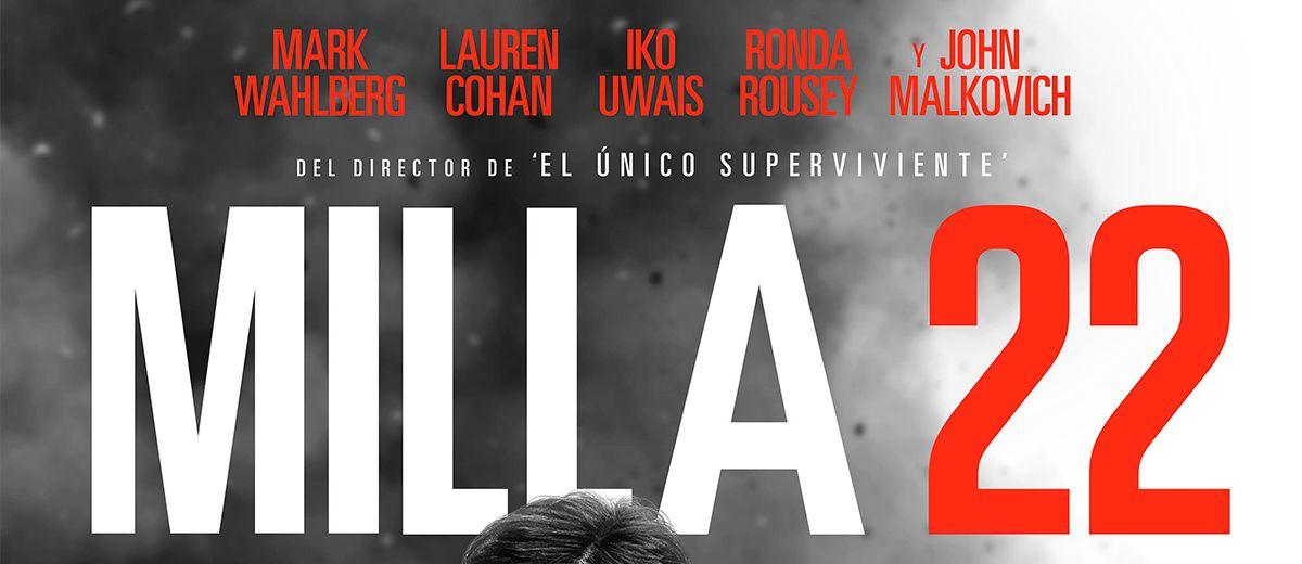 Cartel del thriller de acción, MILLA 22