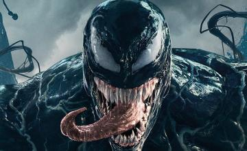 Cartel final de VENOM con Tom Hardy