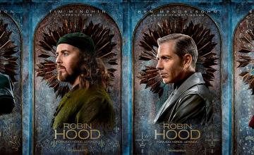 Pósters de los personajes de Robin Hood
