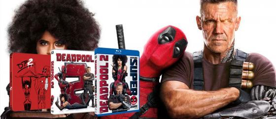 Vuelve Deadpool 2 en edición doméstica DVD y Blu-ray