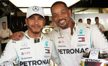 Will Smith se convierte en piloto de Mercedes por un día