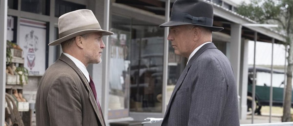 Primera imagen de Costner y Harrelson en THE HIGHWAYMEN