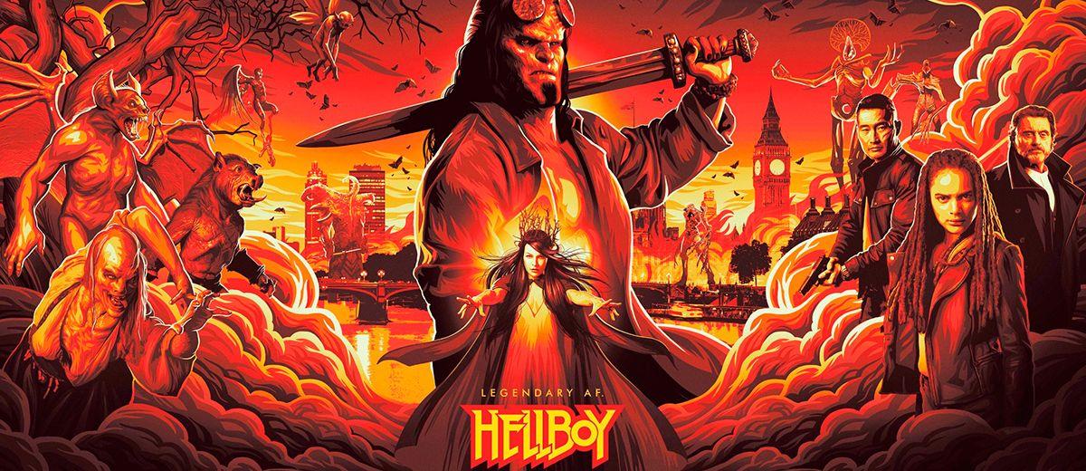Hellboy estrena tráiler en el reinicio de la saga