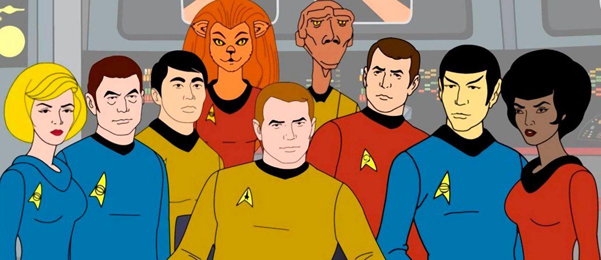 La CBS está desarrollando una serie de animación de STAR TREK