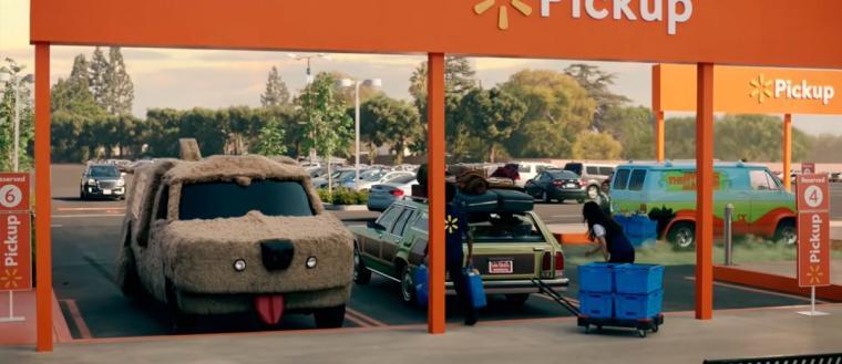 Impresionante campaña comercial con los coches pop