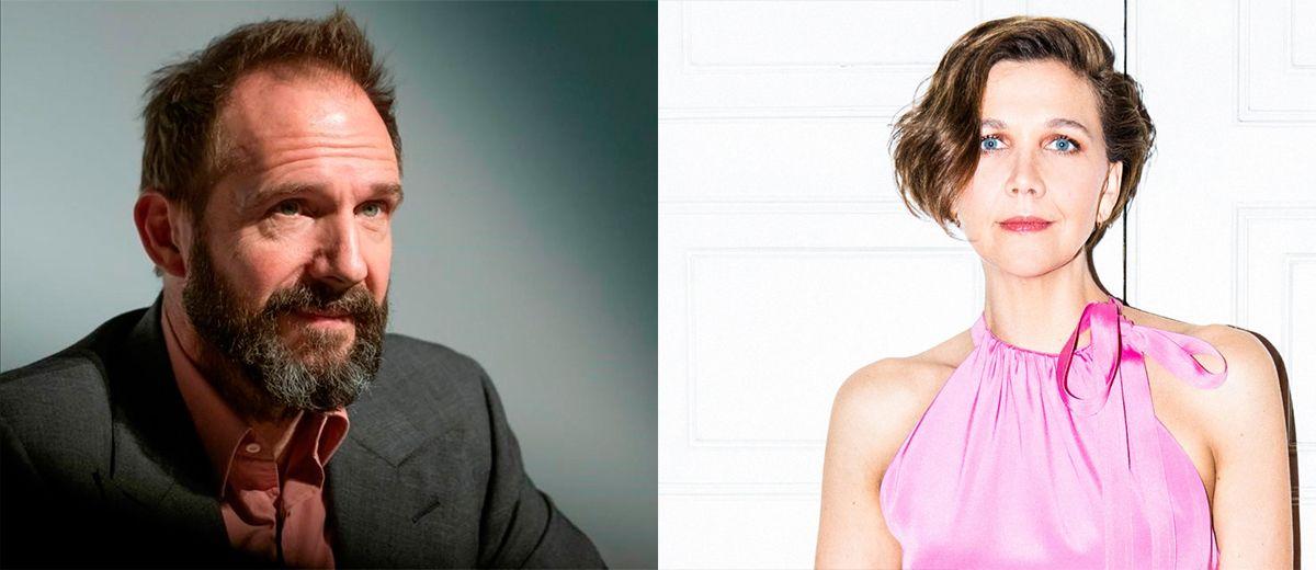 Maggie Gyllenhaal y Ralph Fiennes juntos en una película sobre la casa Farnsworth