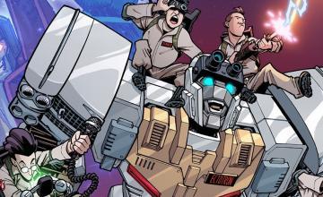 Los Cazafantasmas y Transformers formarán equipo en una nueva serie de cómics