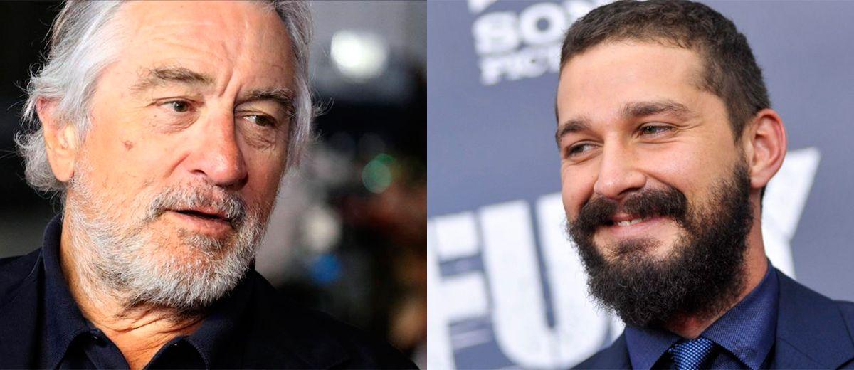 Robert De Niro y Shia LaBeouf protagonizarán el drama criminal; AFTER EXILE