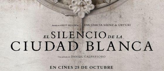 Póster teaser de EL SILENCIO DE LA CIUDAD BLANCA