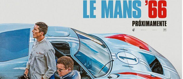 Imágenes de LE MANS '66 lo próximo de Damon y Bale