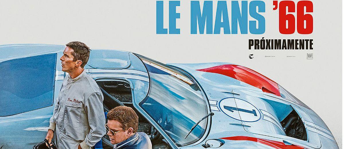 Le Mans ´66 – Teaser Póster